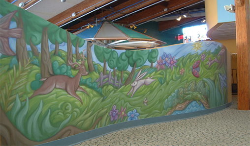 Application Unlimited - Wall Murals, Commercial Wall Coverings.